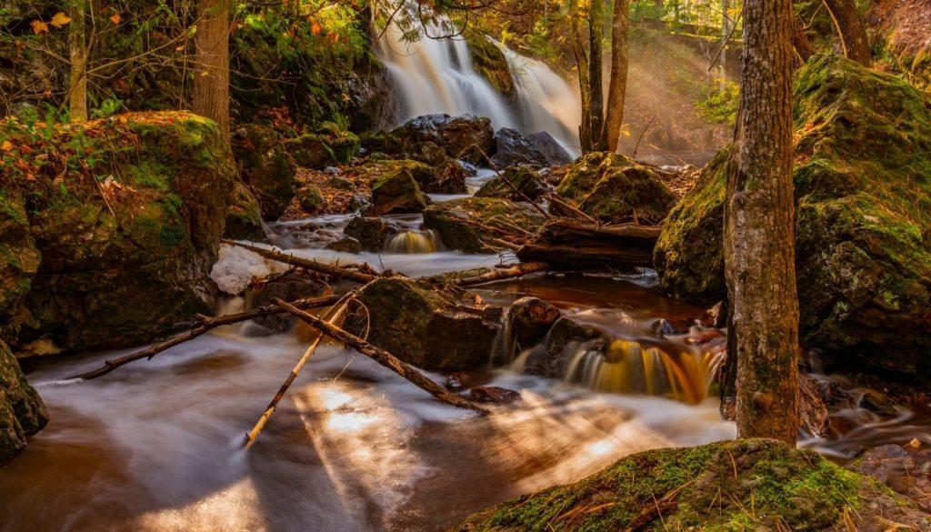 wisconsin waterfall road trip