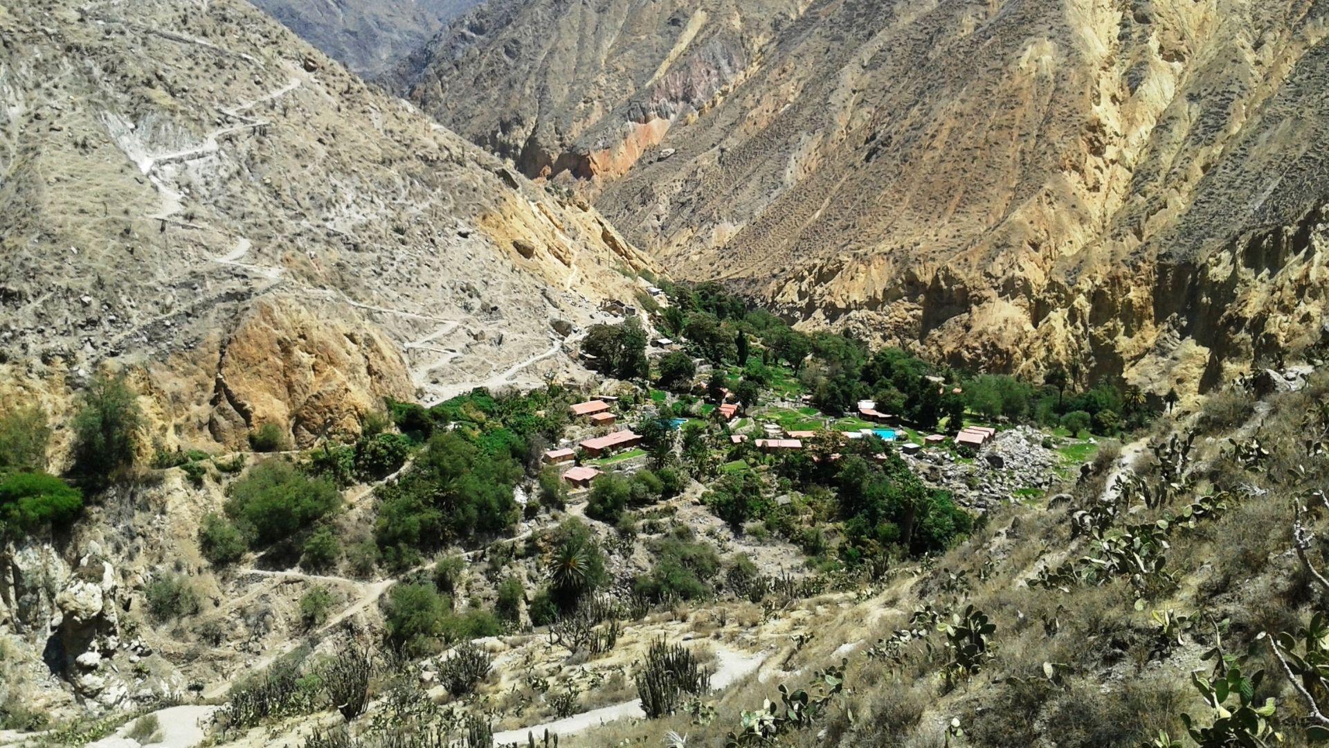 Colca Canyon South America vacation