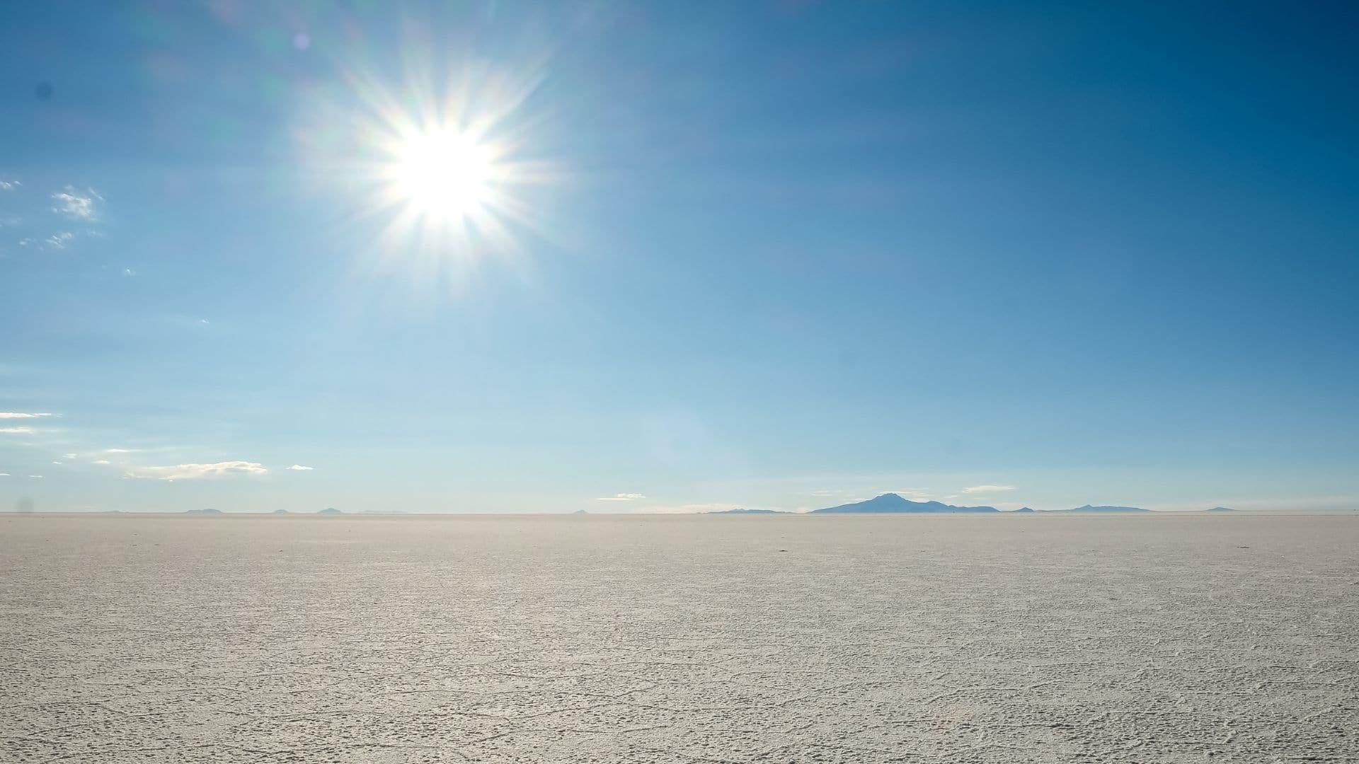 Uyuni vacation spots in South America