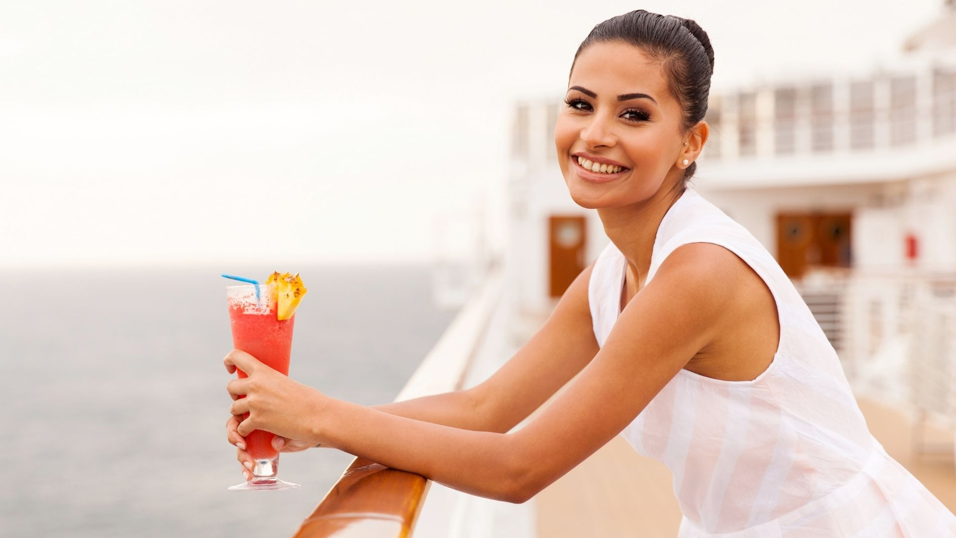 all-inclusive cruising drinks