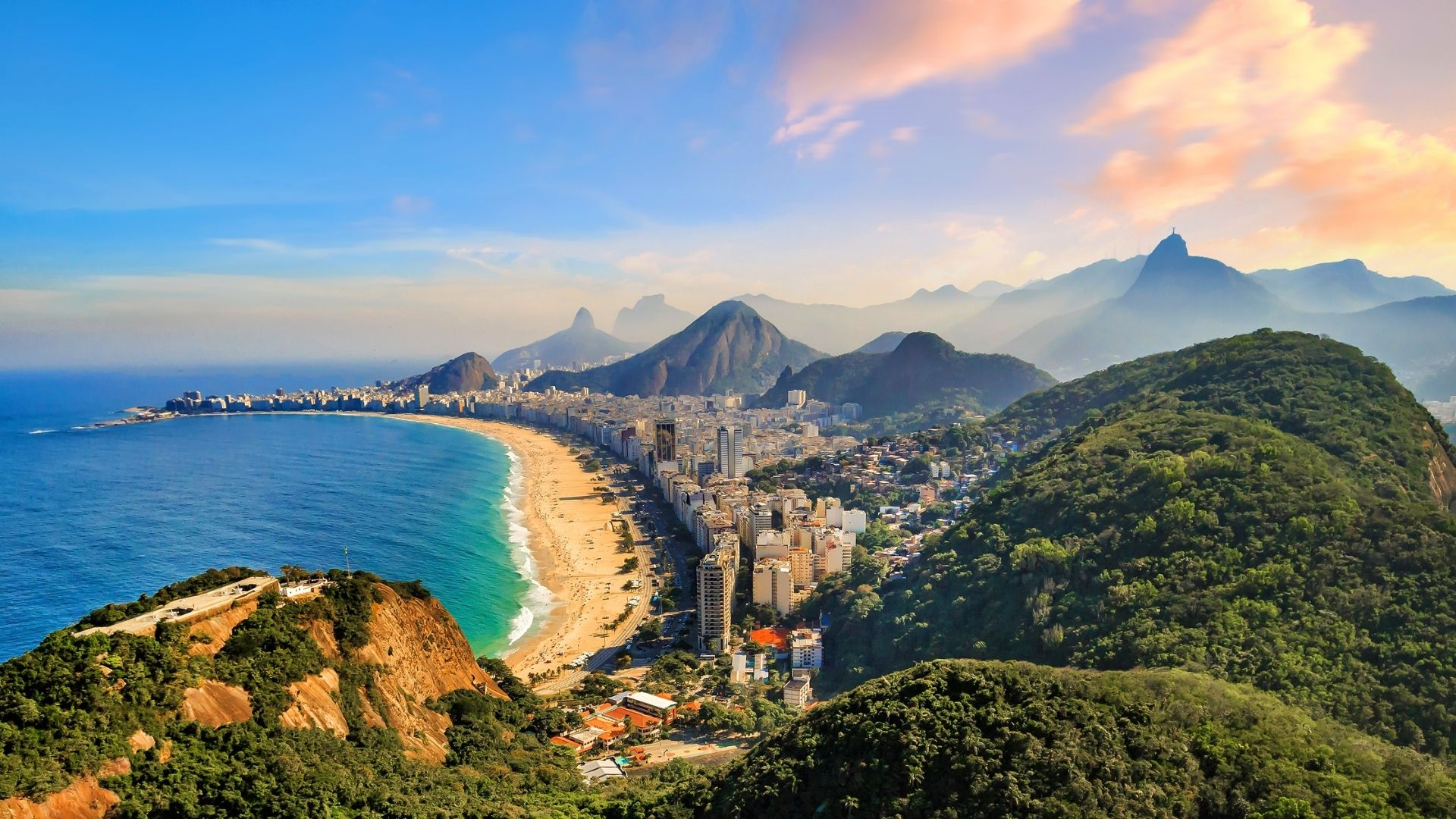 Brazil vacation destinations in South America
