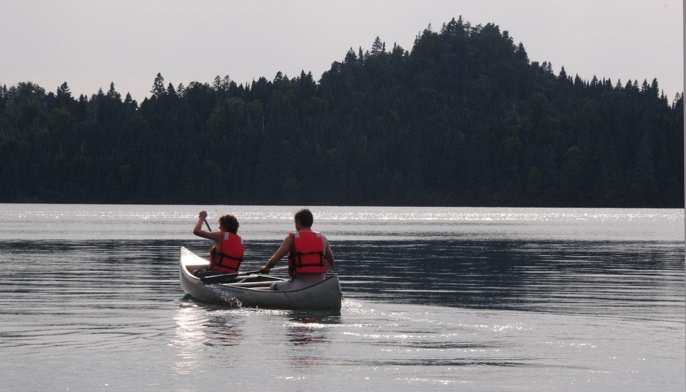 canoeing isle royale