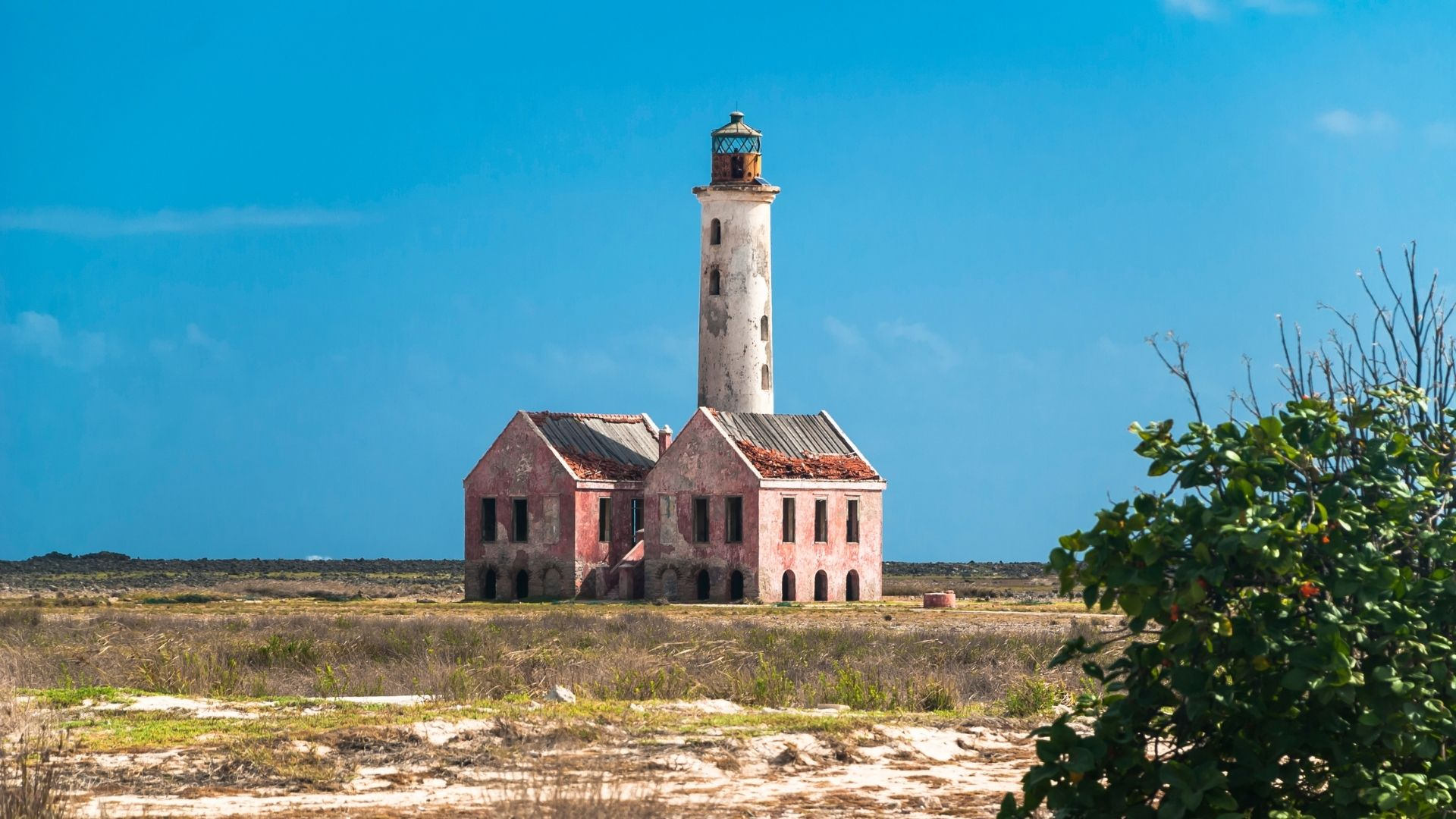 Klein curacao island