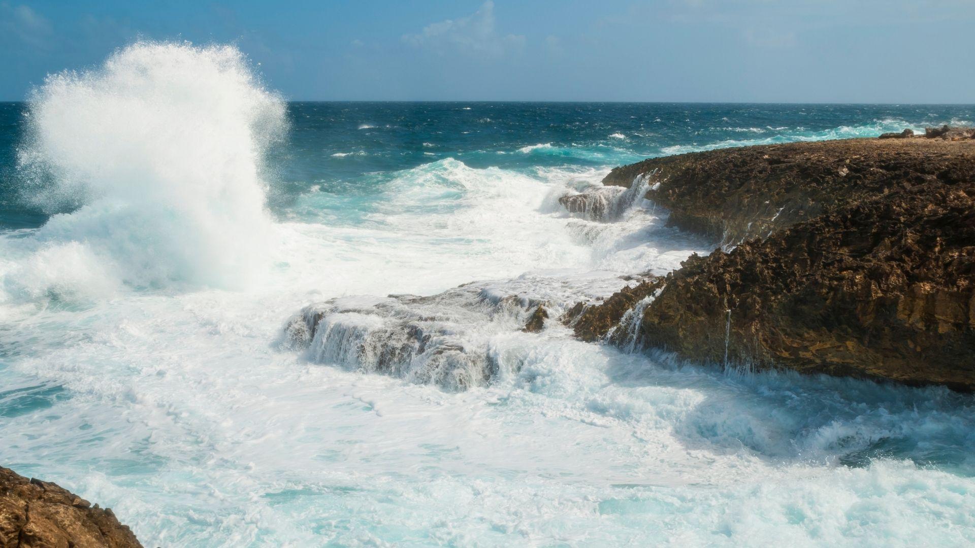 Curacao island Shete Boka National Park