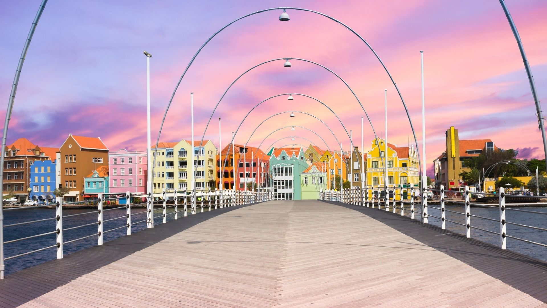 curacao island queen Emma pontoon bridge