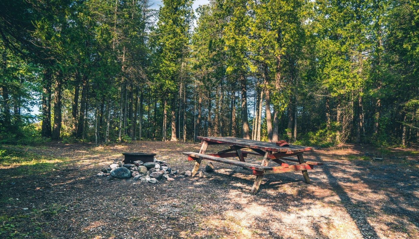 isle royale campsites