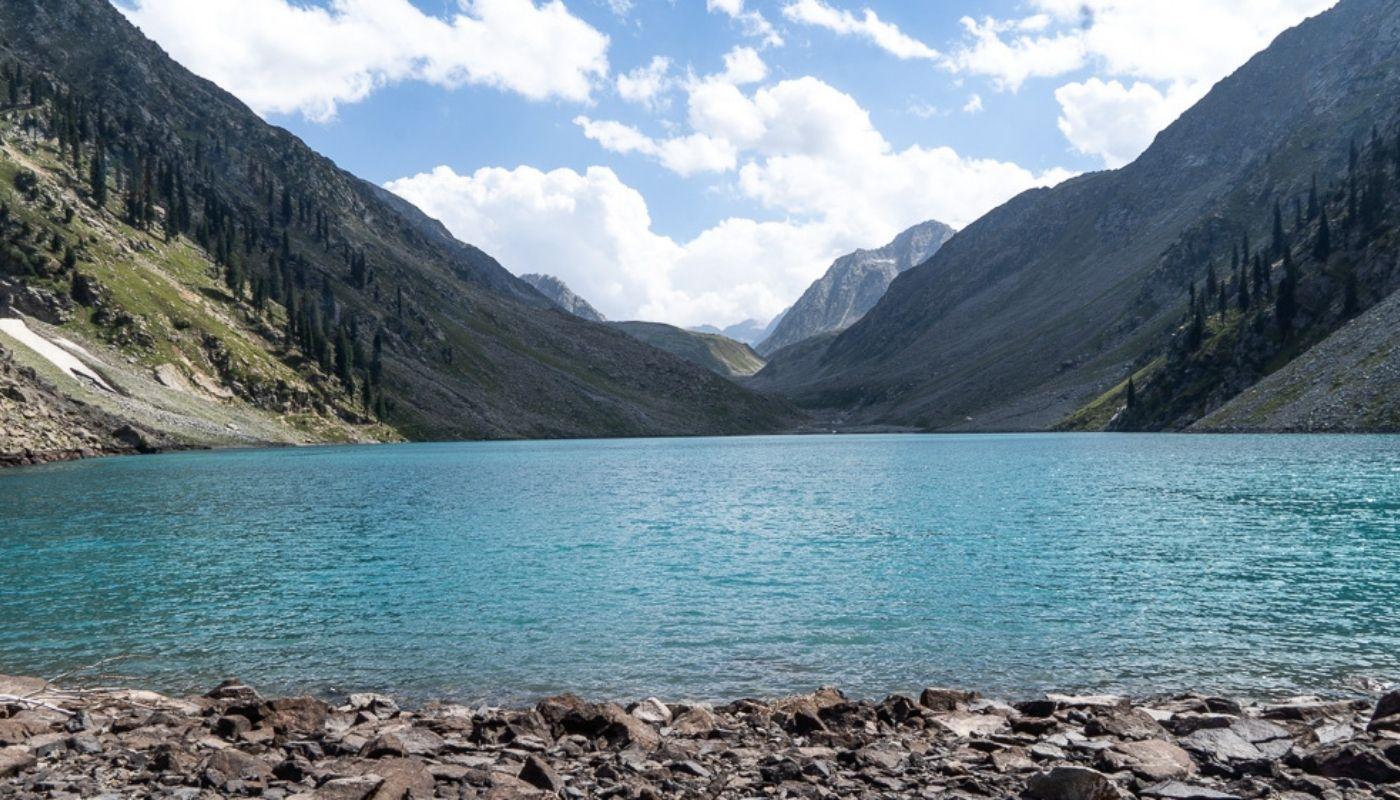 Beautiful Kandol Lake Pakistan