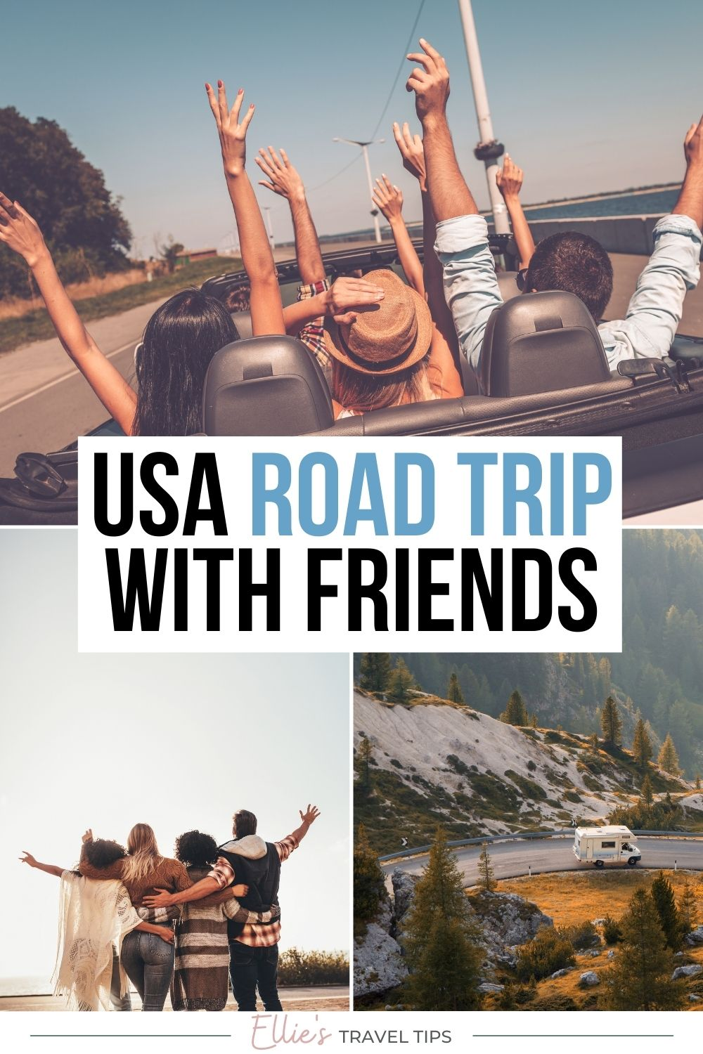 Best Stops on a Road Trip with Friends in the USA