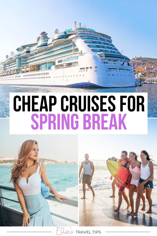 Cheap Spring Break Cruises Pin