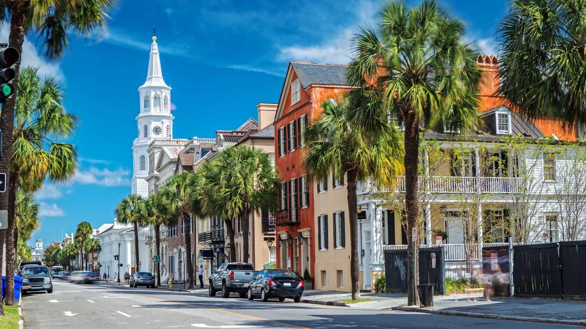 Friends road trip to Charleston South Carolina