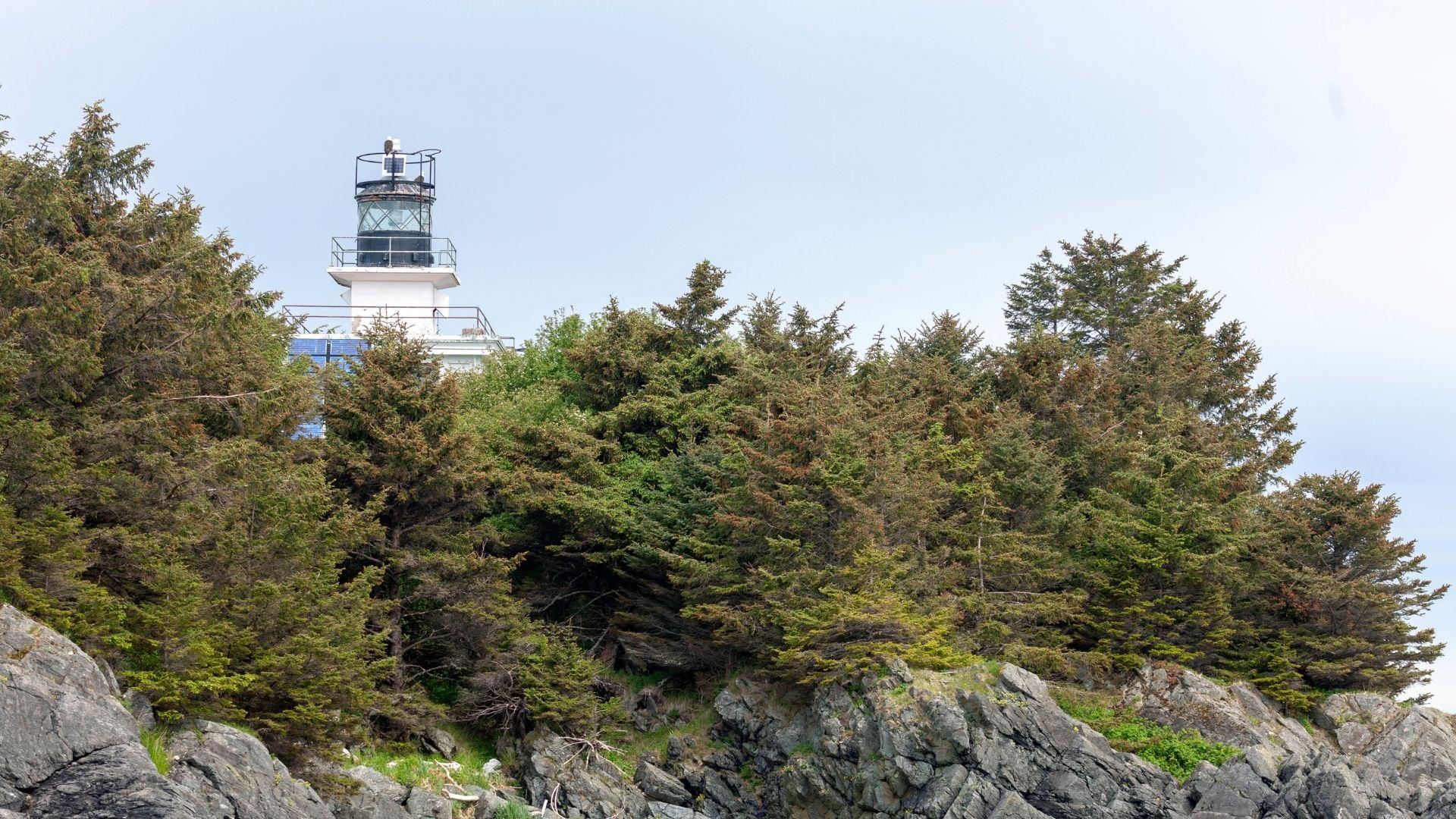 Guard Island Lighthouse Ketchikan Alaska