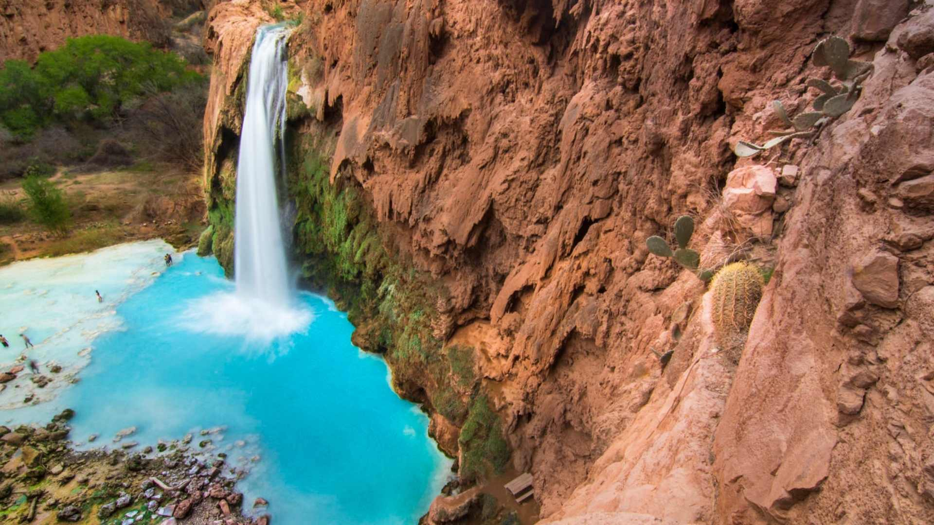 Havasu Falls, Arizona beautiful waterfalls