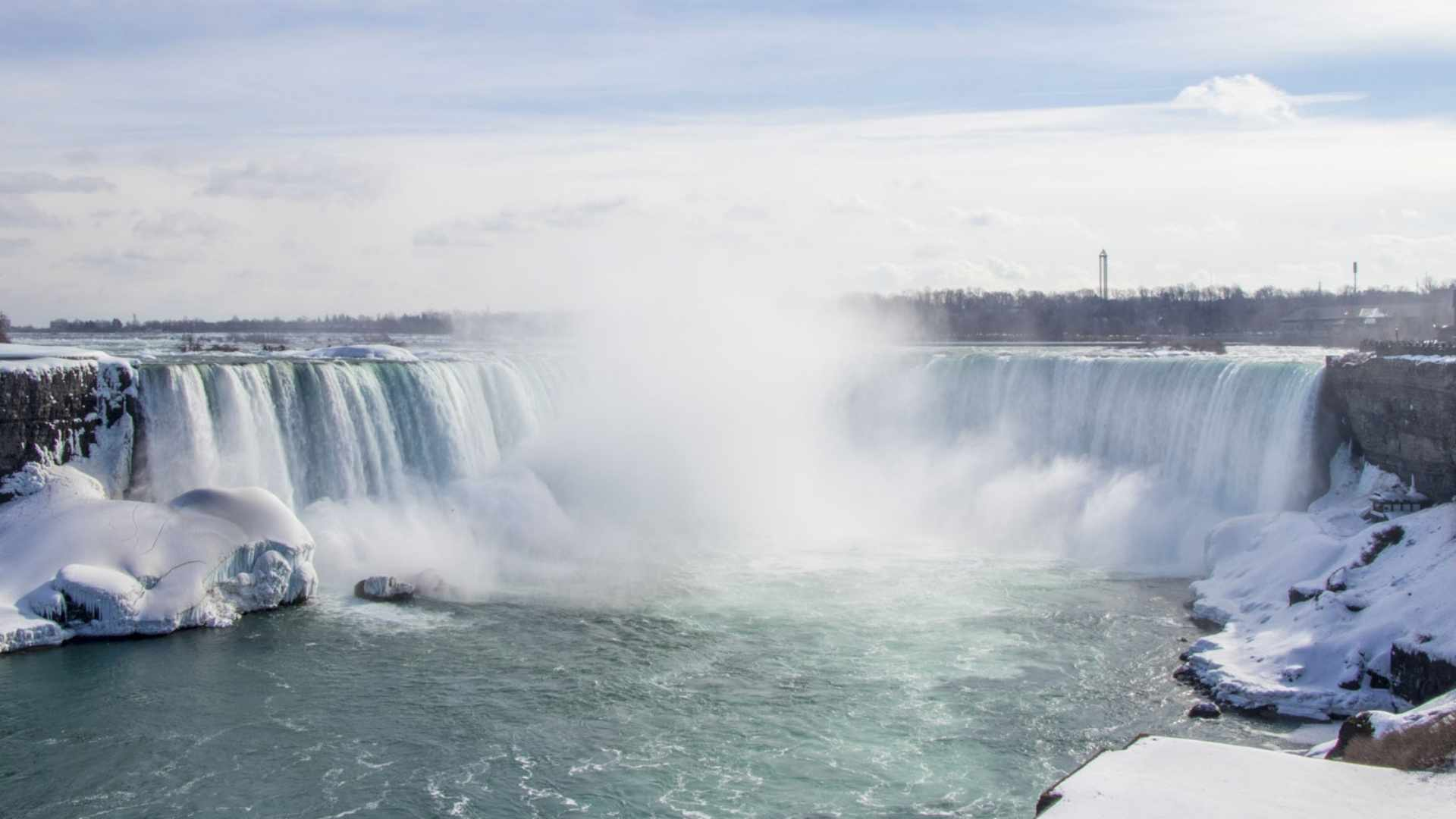 Horseshoe Falls, Canada beautiful waterfalls