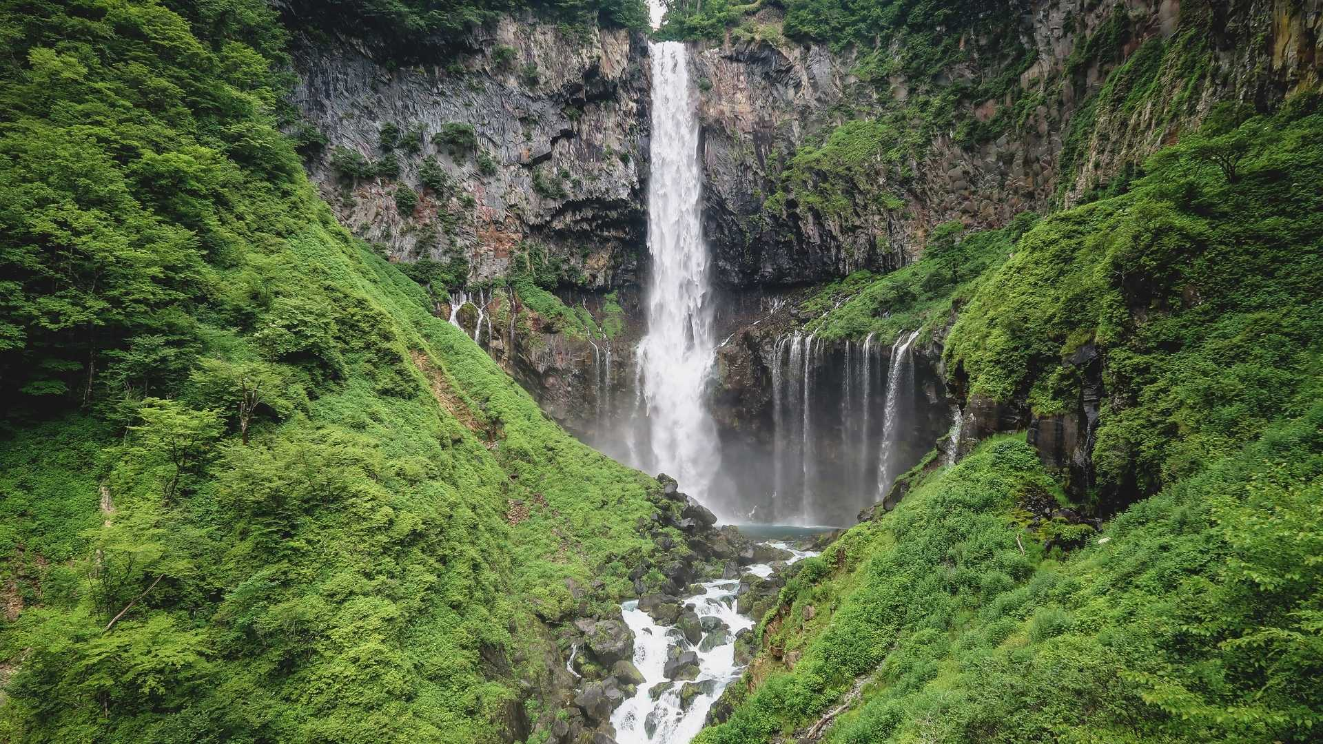 Kegon Falls Japan beautiful waterfalls