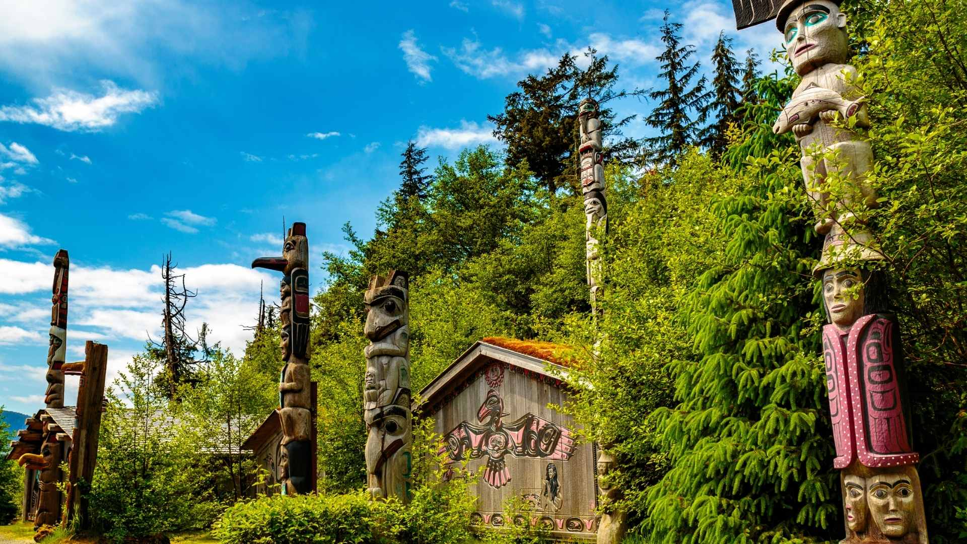 Ketchikan Totem Poles
