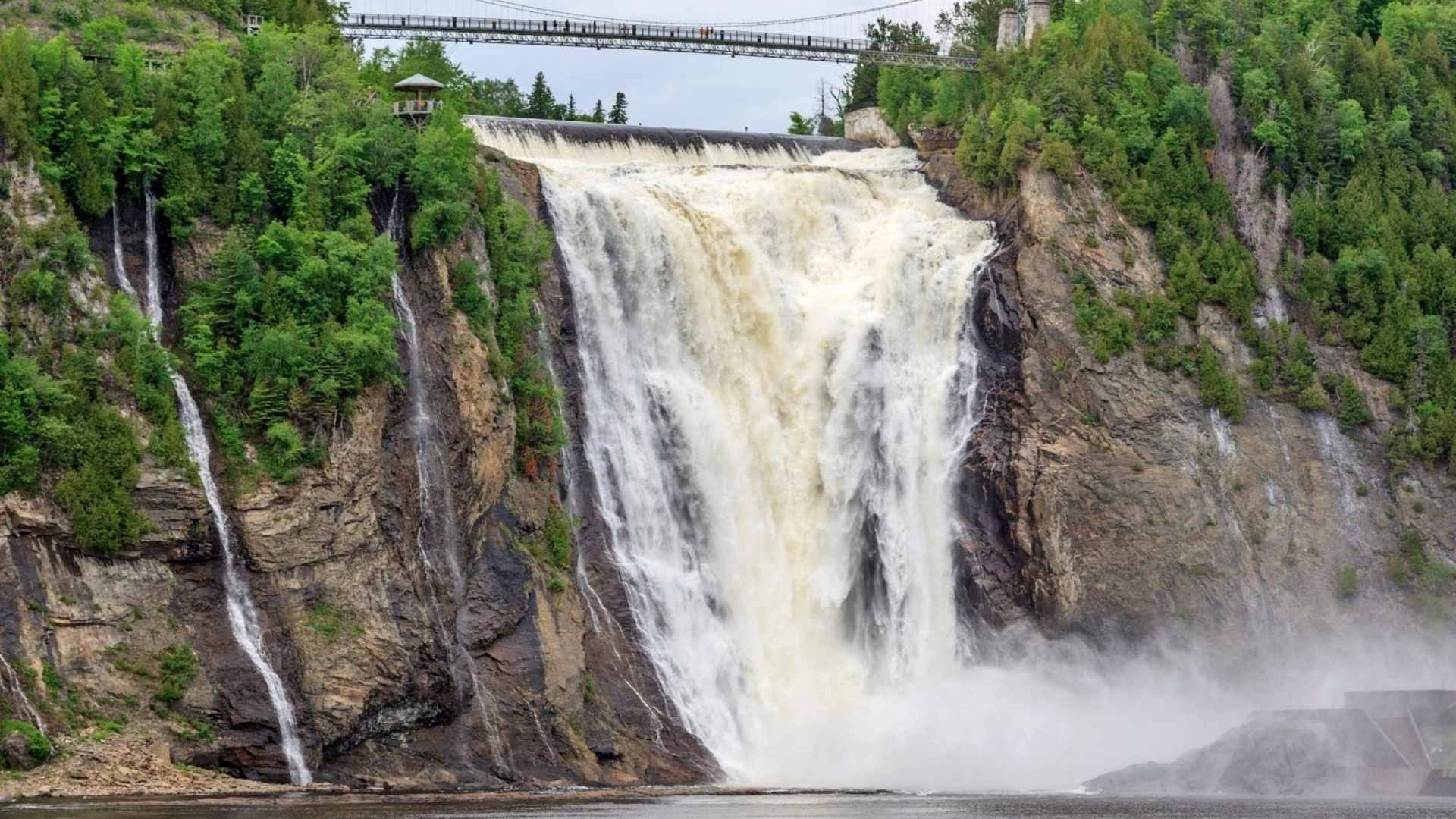 Montmorency Falls, Canada beautiful waterfalls