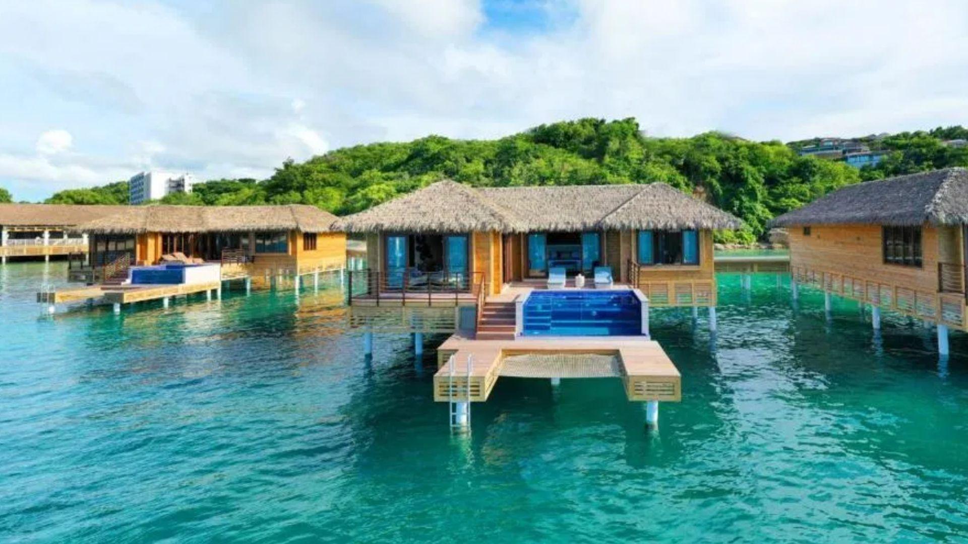 Royalton Antigua Overwater Bungalows Caribbean