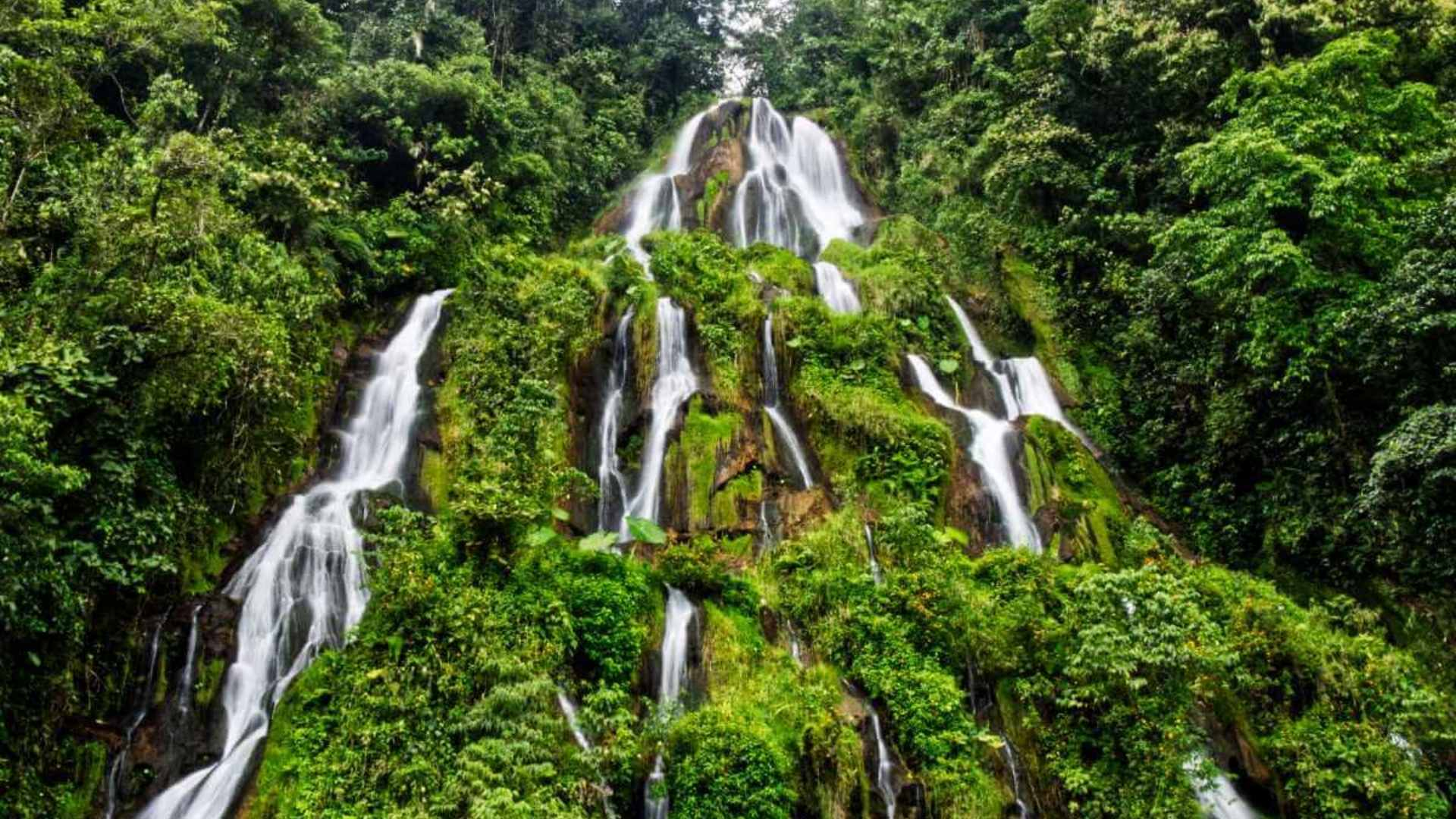 Santa Rosa de Cabal, Colombia beautiful waterfalls