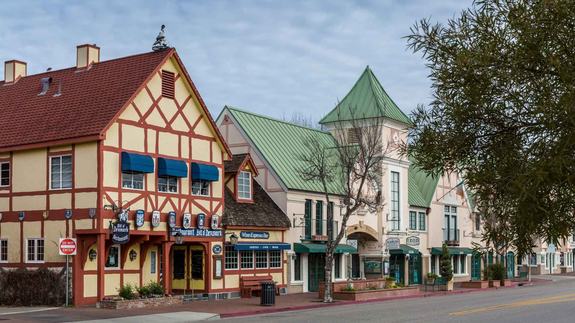 Solvang California road trip with friends