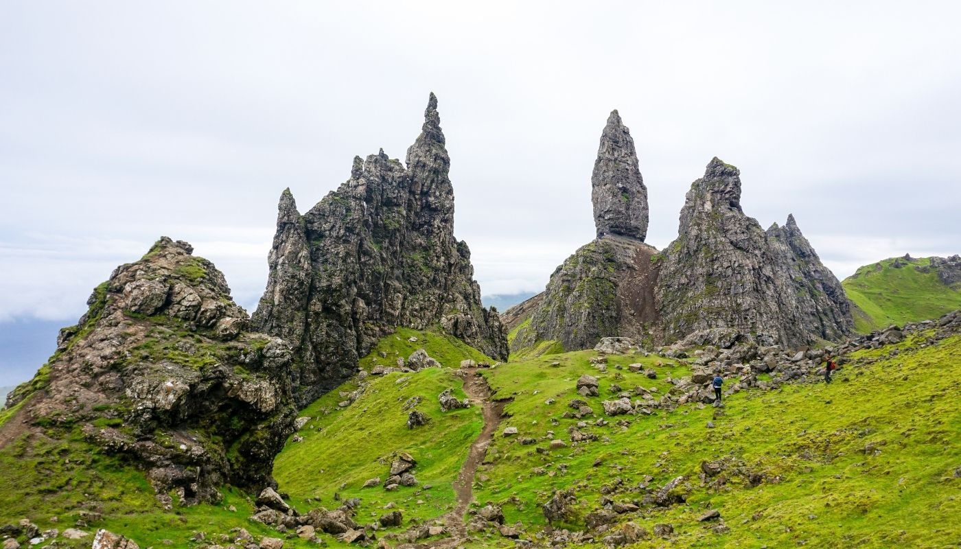 The Old Man of Storr beautiful hiking trails