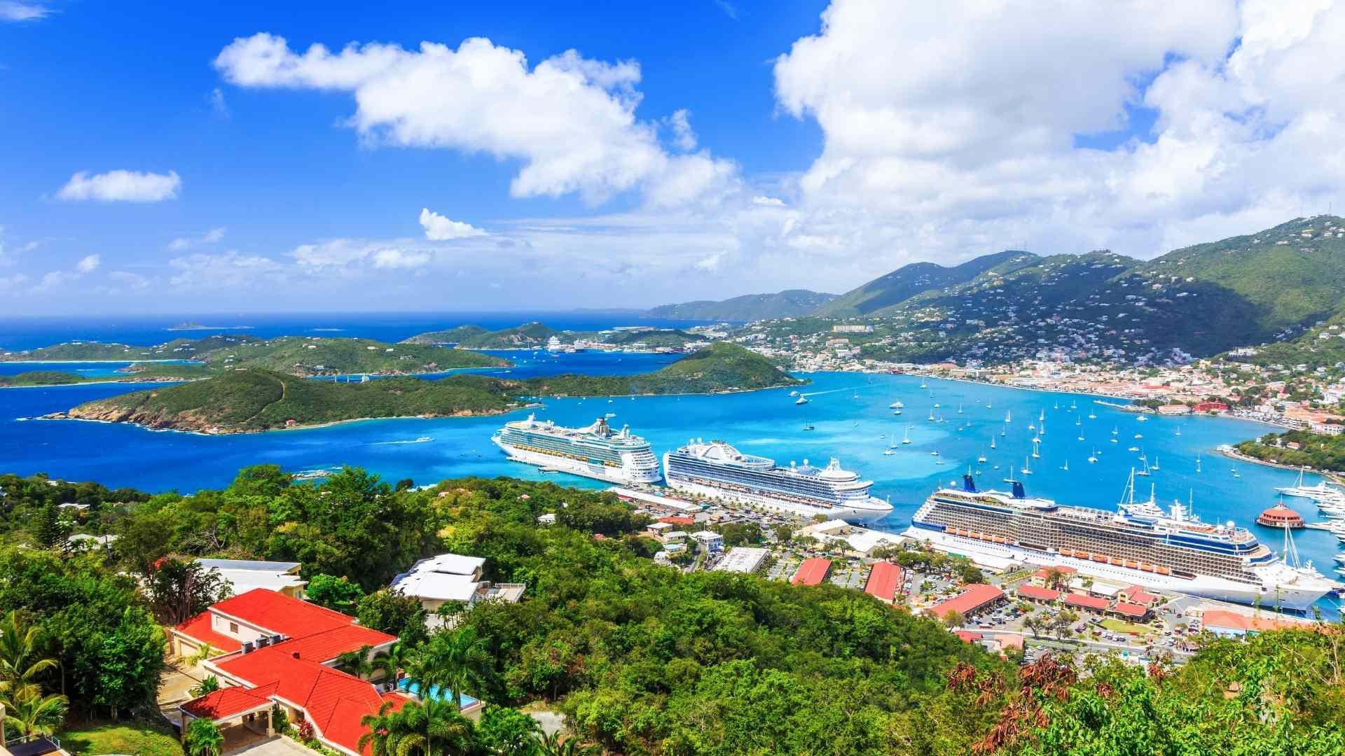 US Virgin Islands cruise port