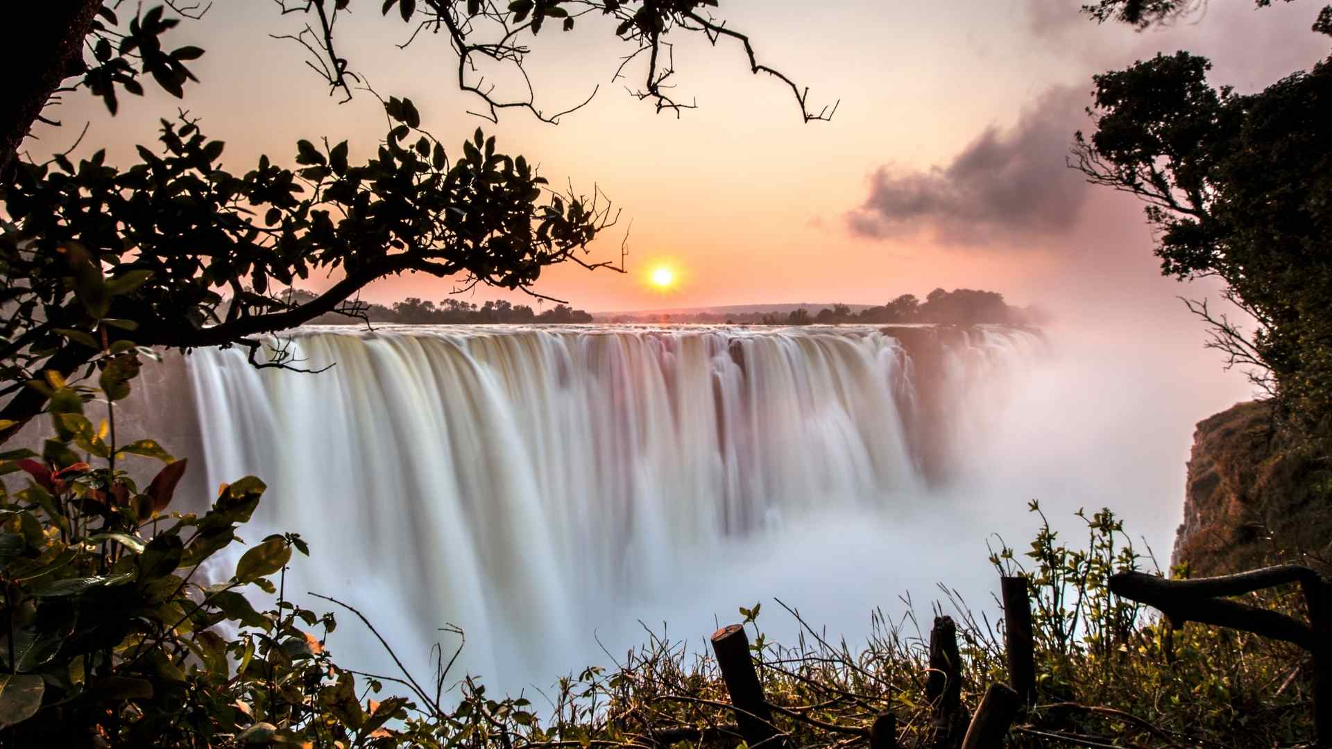 Victoria Falls Zimbabwe and Zambia beautiful waterfalls