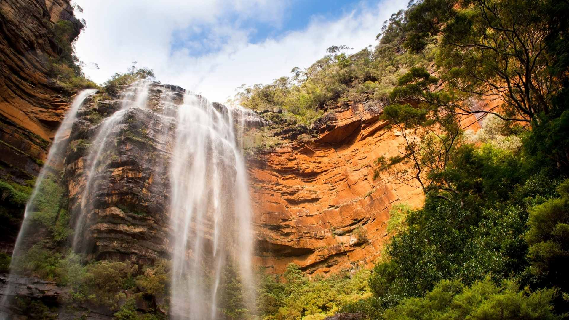 Wentworth Falls, Australia beautiful waterfalls