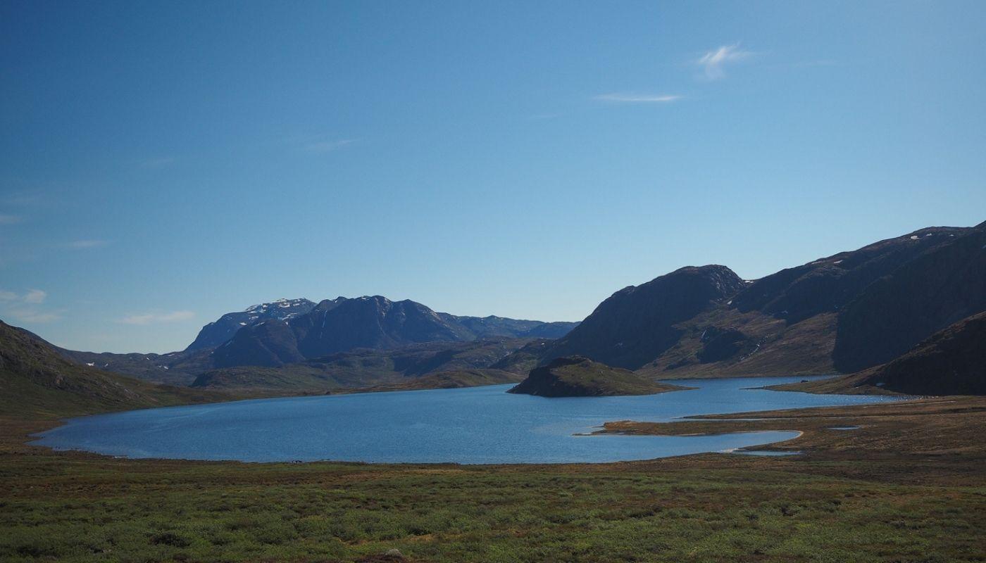 beautiful Arctic Circle Trail Greenland