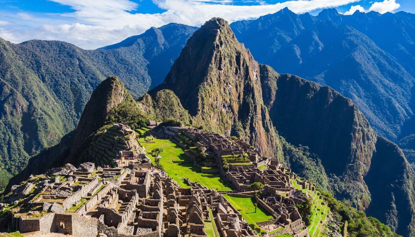 beautiful Machu Picchu hike