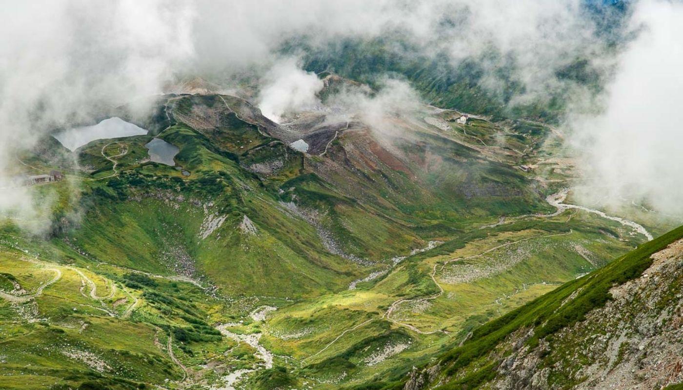 beautiful Mount Tate hike