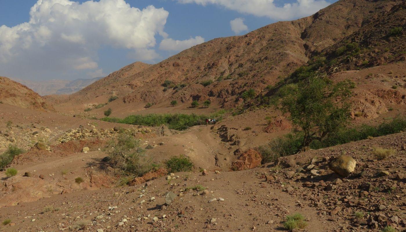beautiful Wadi Dana hike