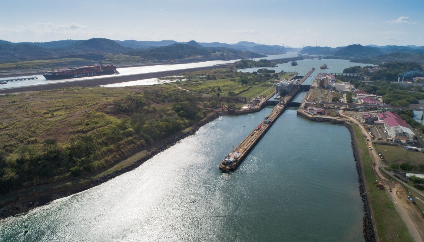 cruising through the Panama Canal