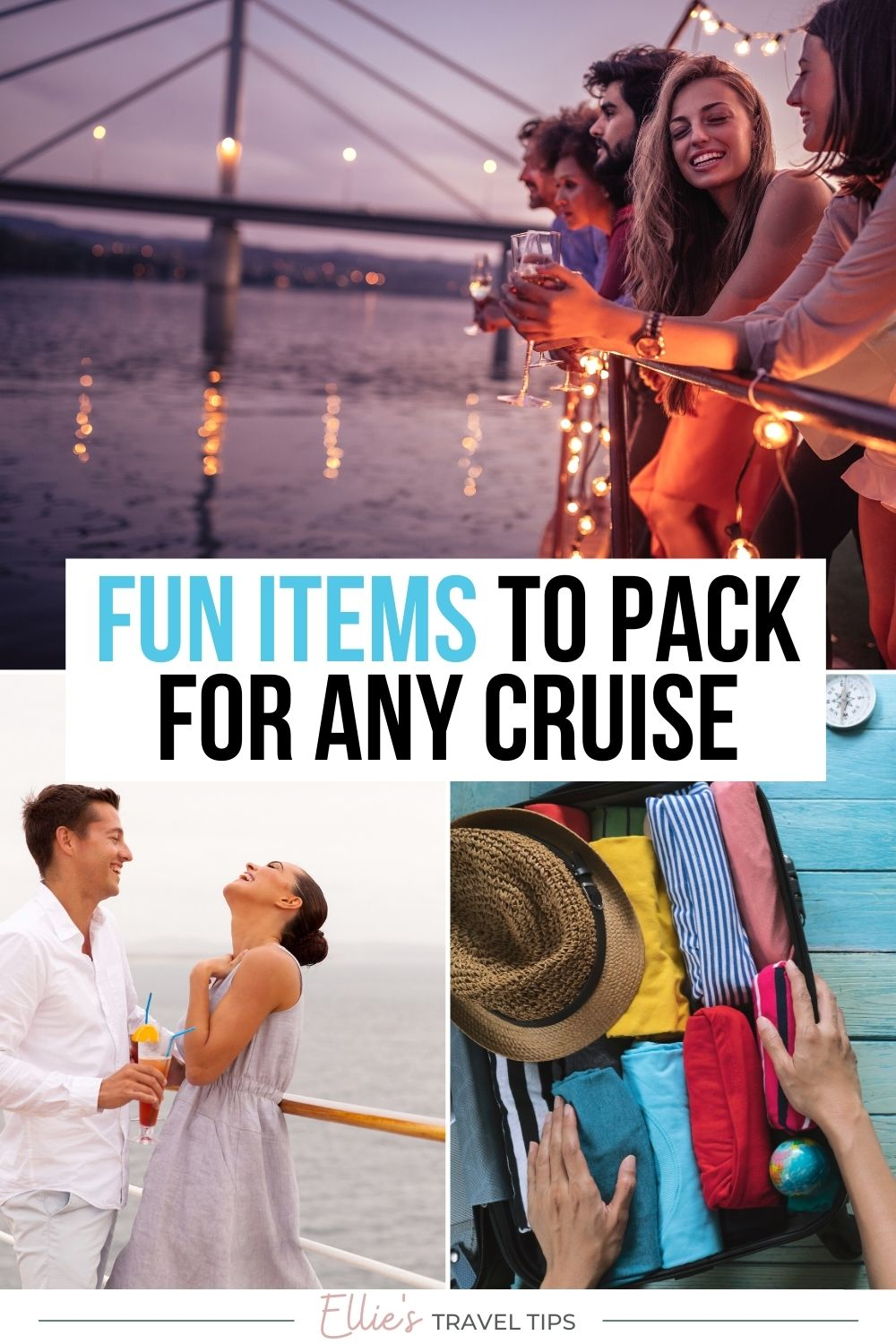 fun things to bring on a cruise pin