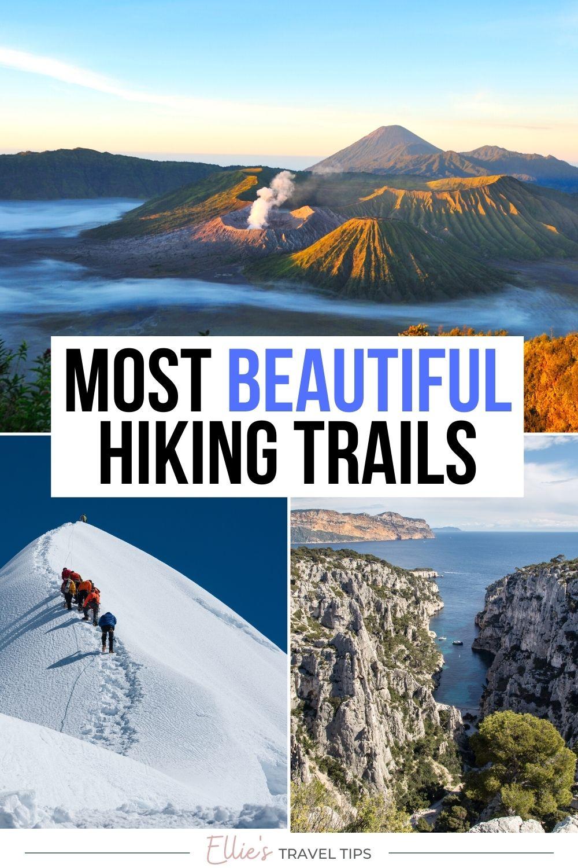 most beautiful hiking trails