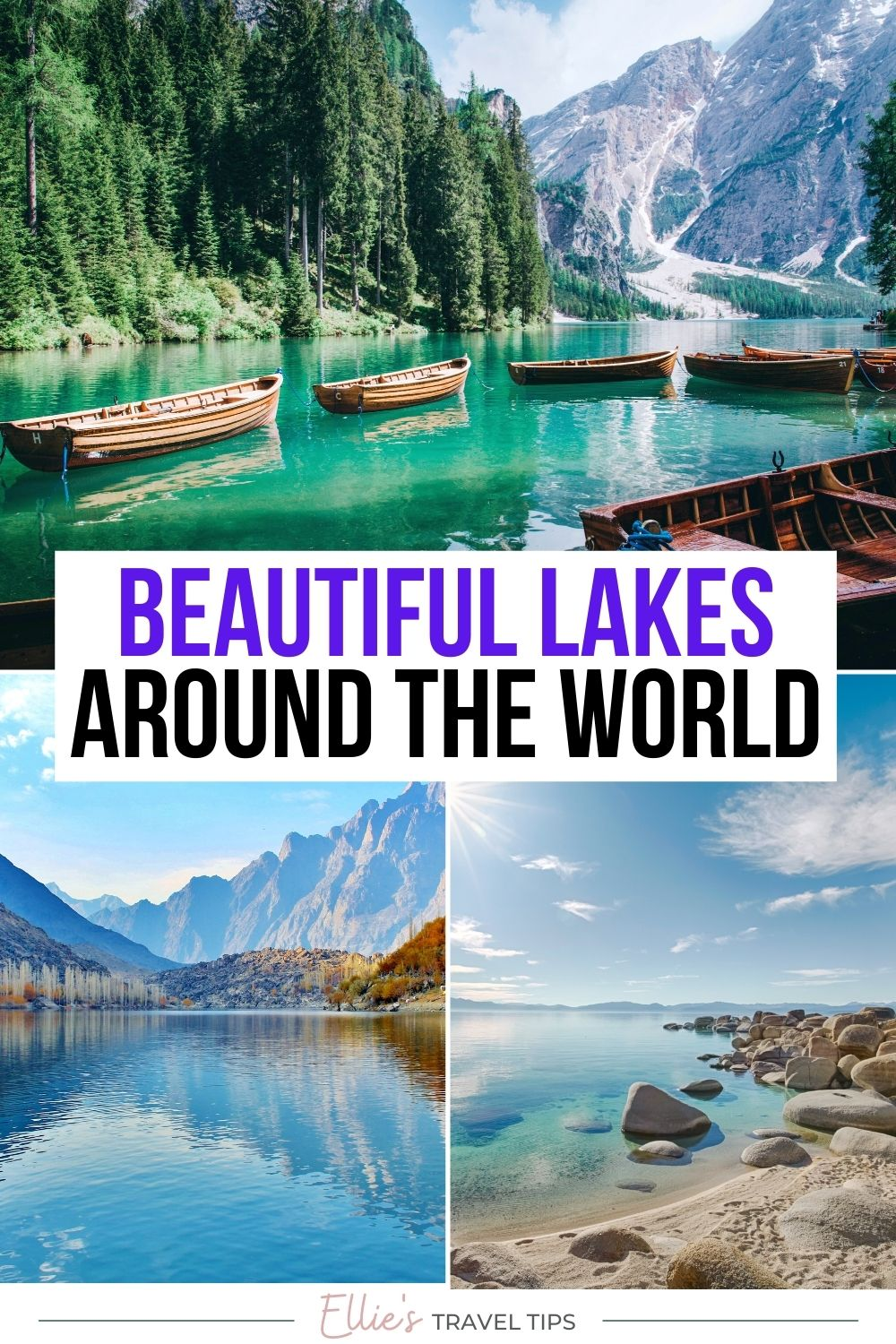 most beautiful lakes in the world