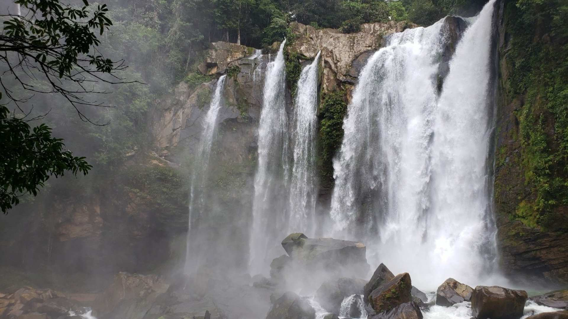most beautiful waterfalls in the world Nauyaca Waterfalls, Costa Rica