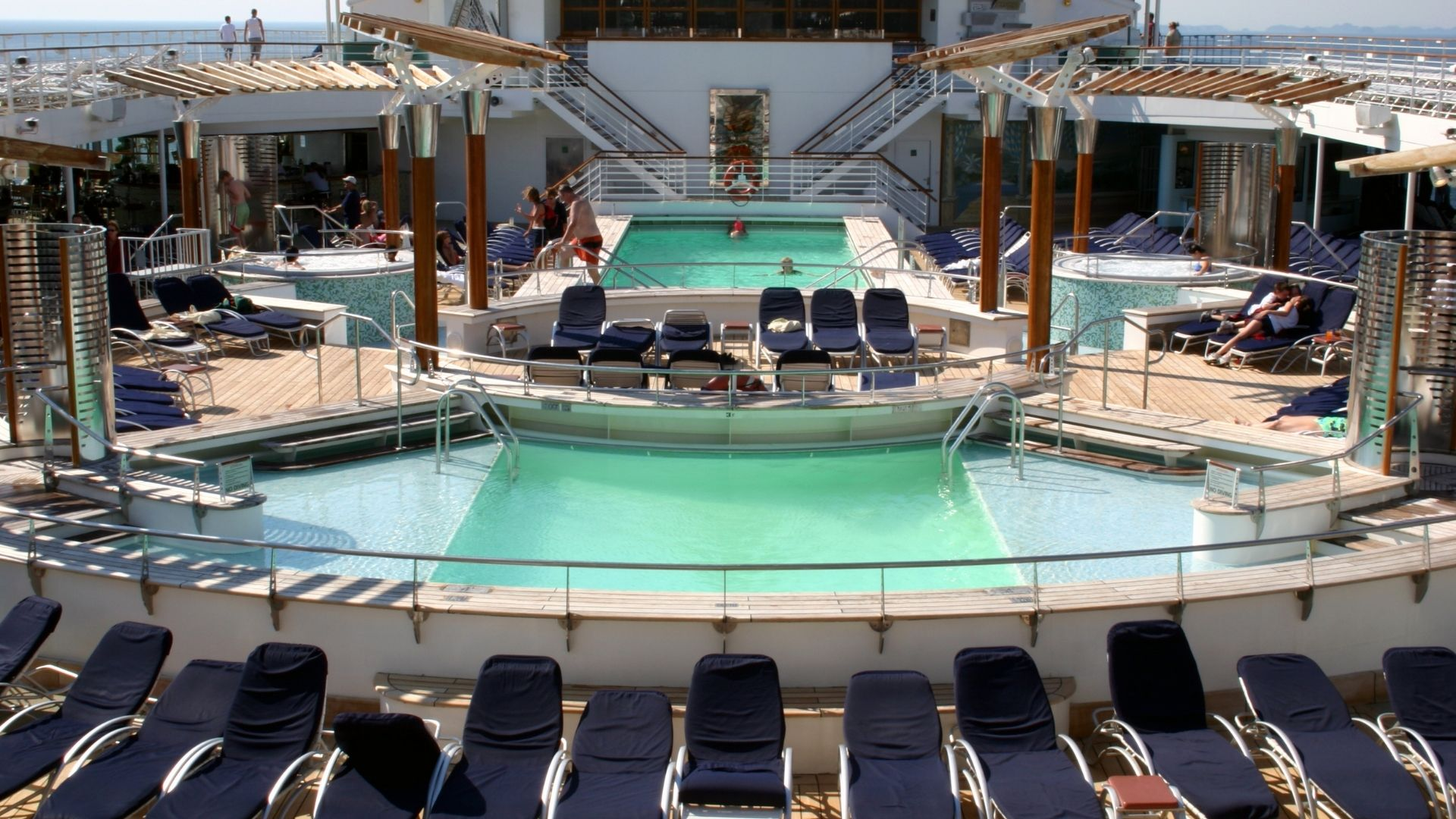 noisiest cruise cabins