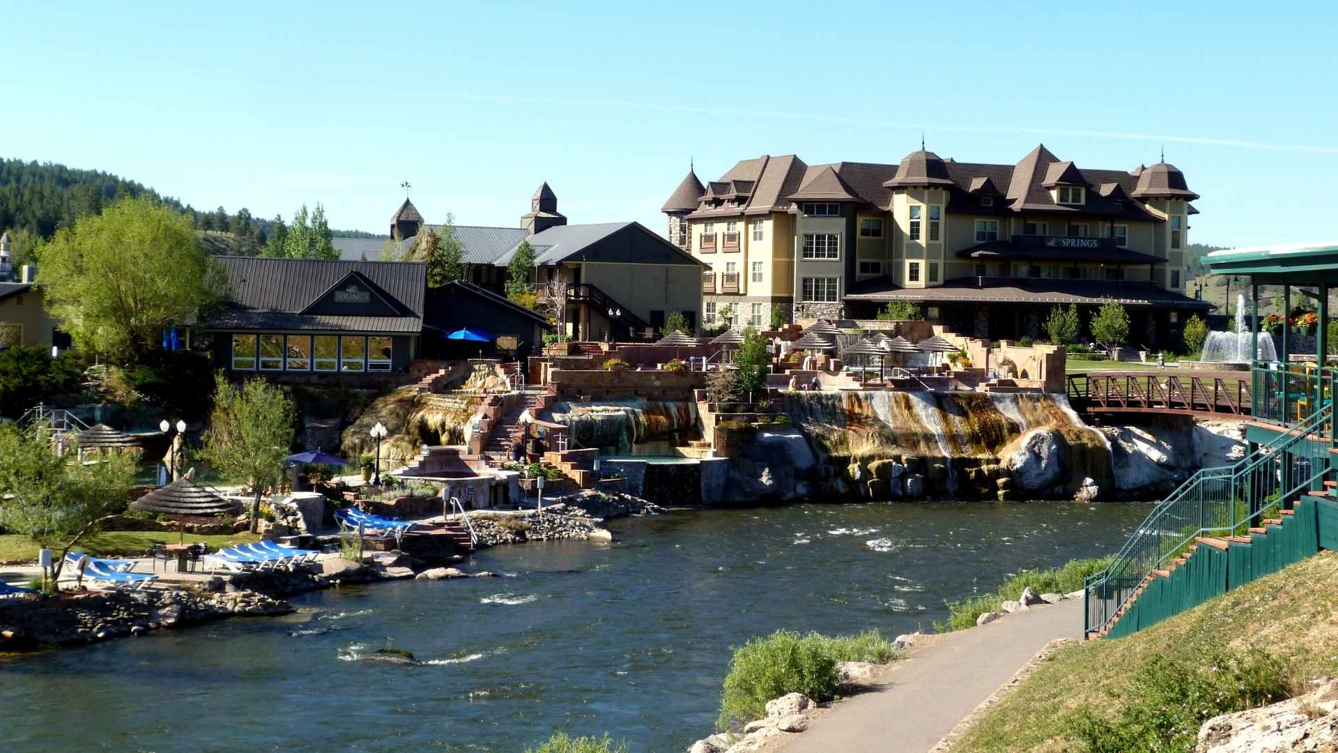 road trip with friends to Pagosa Springs, Colorado