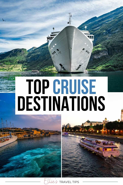 top cruise destinations pin