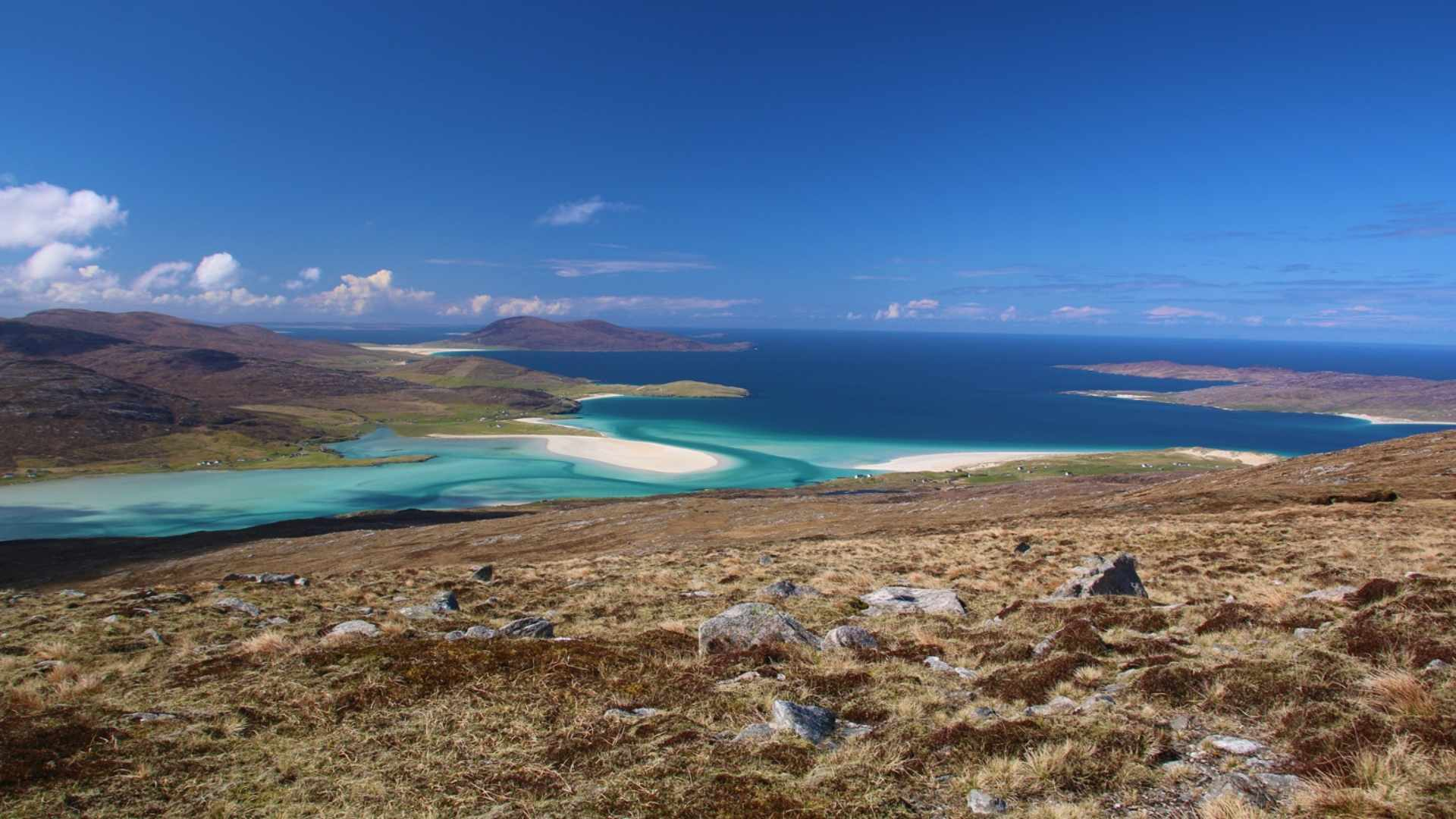 Isle of Harris and Lewis - most scenic islands in the world