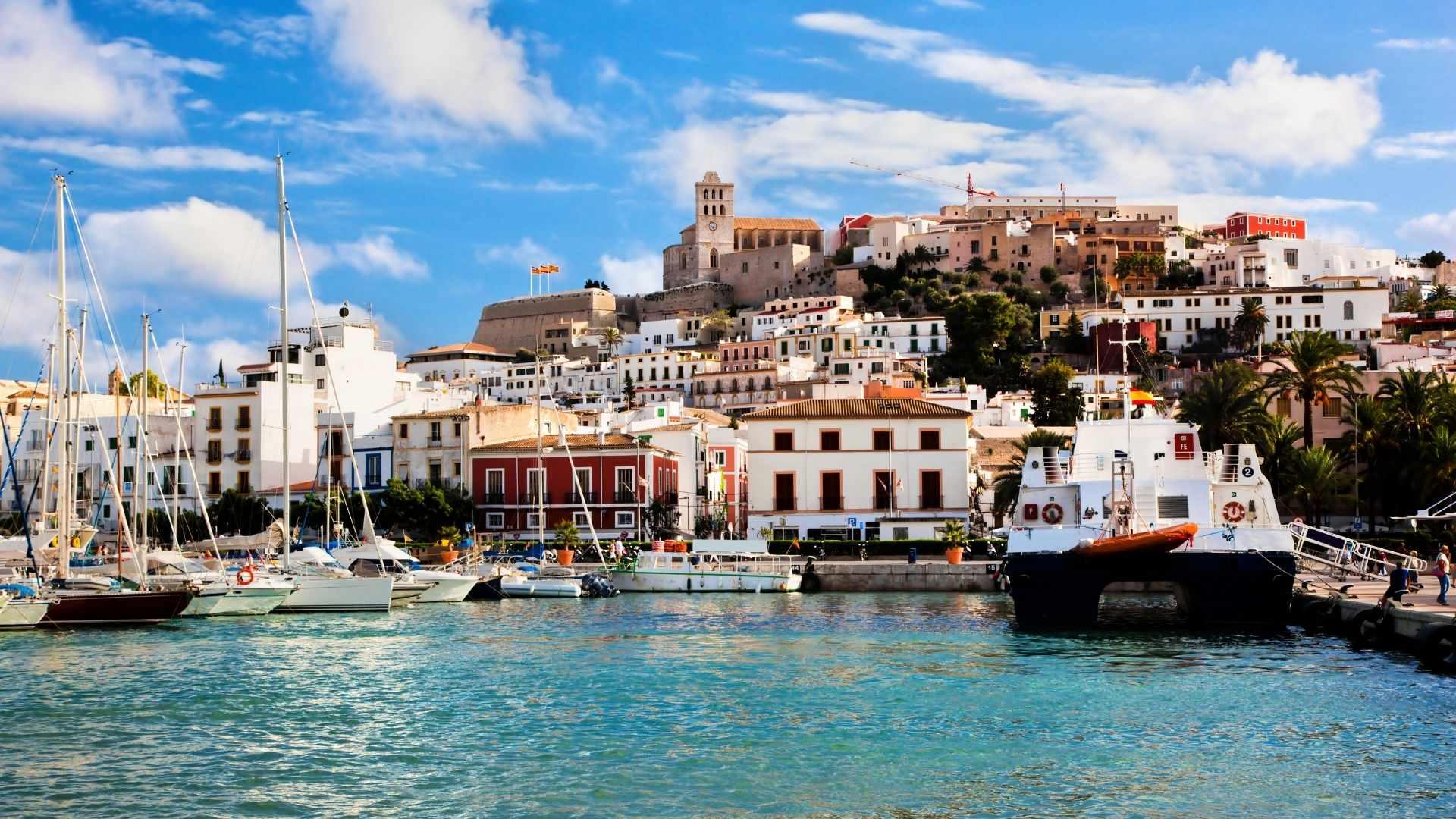 beautiful Ibiza island, Spain