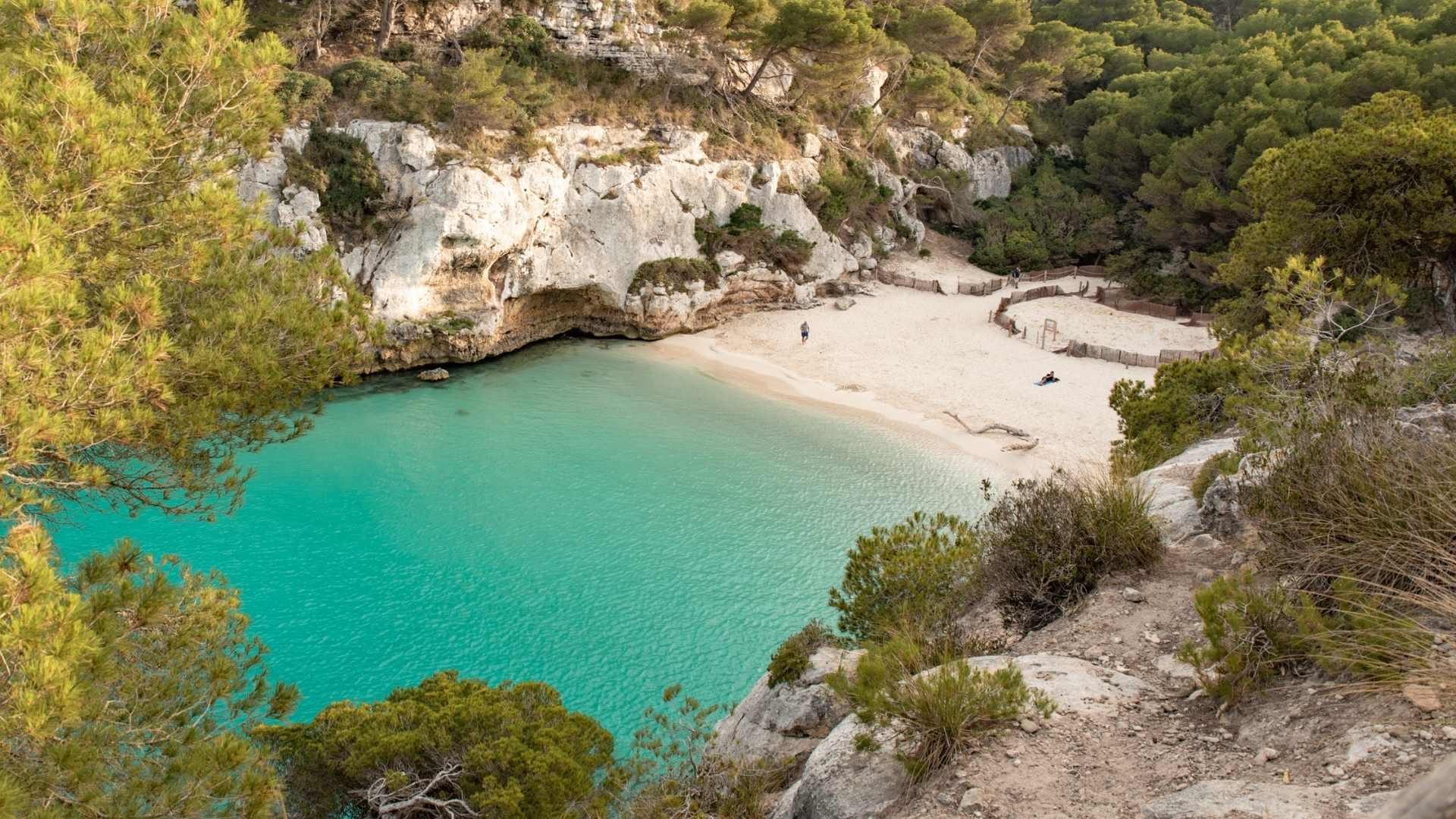 beautiful Menorca Spain