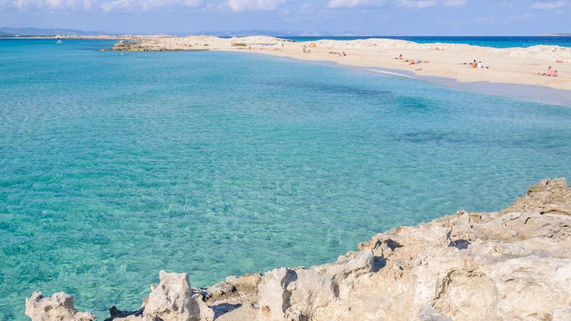 beautiful island Formentera Island, Spain