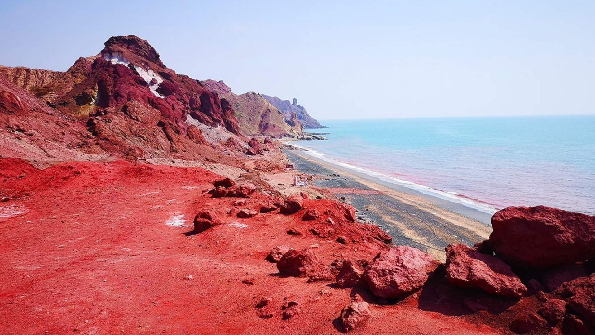 beautiful Hormuz Island